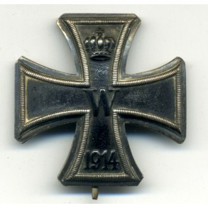 WW1 Iron Cross 1st class, small variant by an unknown maker