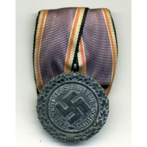 Luftschutz medal, single mounted