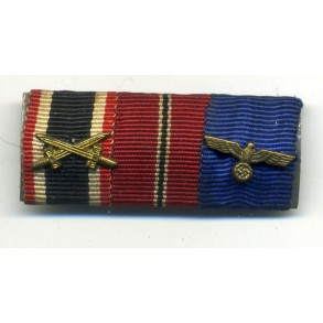 3 place ribbon bar