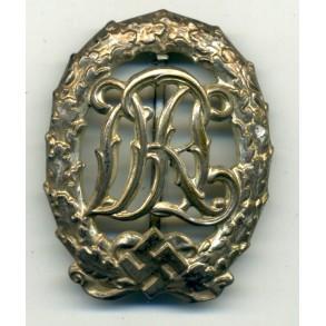 DRL sport badge in silver by Wernstein