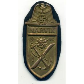 Narvik shield for kriegsmarine troops by W. Deumer CUPAL