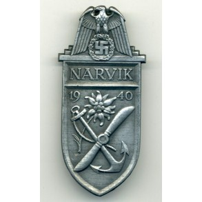 Narvik shield for army troops by W. Deumer