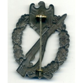 """Infantry Assault Badge in silver by unknown maker """"O. Schickle/Mayer design"""""""
