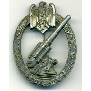 "Army Flak Badge ""pillow crimp"""