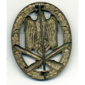 General Assault Badge by W. Deumer