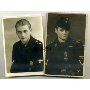 2 SS Panzer portrait photos LSSAH!!!
