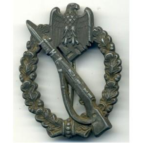 Infantry Assault Badge in silver by Gebrüder Wegerhoff