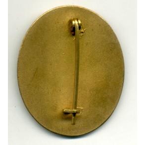 Wound Badge in Gold by Deschler & Sohn