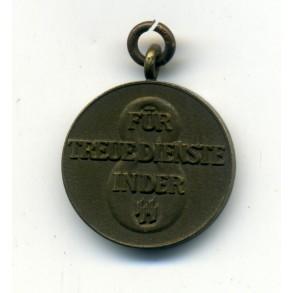 SS 8 year service award 16mm miniature
