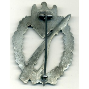 Infantry Assault Badge in silver by E. Müller