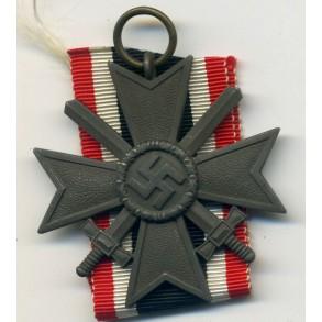 War Merit Cross 2nd class with swords by Moritz Hausch A.G.