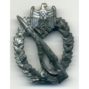 Infantry Assault Badge in silver by E.F. Wiedmann