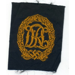 DRL sports badge bronze in cloth