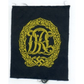 DRL sports badge gold in cloth.