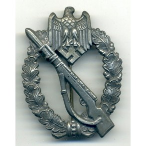"Infantry Assault Badge in silver ""Egghead"""