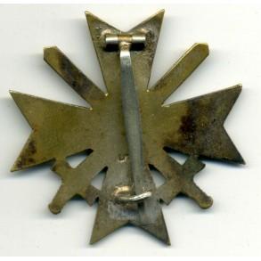 """War Merit Cross 1st class by C.E. Juncker """"L/12"""""""