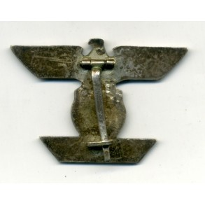 Iron Cross Clasp 1st class by B.H. Mayer, denaz