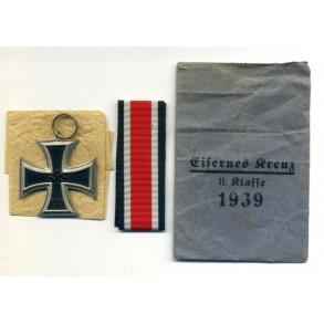 Iron Cross 2nd class by W. Deumer, Schinkel, unmagnetic + package!