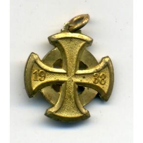 Luftschutz medal 1st class, 16 mm miniature medal