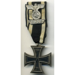"WW1 Iron Cross 2nd class with Iron Cross clasp 2nd class by F. Orth ""L/14"""