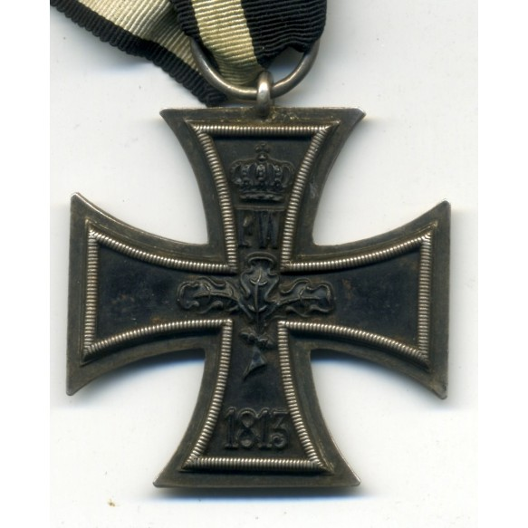 """WW1 Iron Cross 2nd class with Iron Cross clasp 2nd class by F. Orth """"L/14"""""""