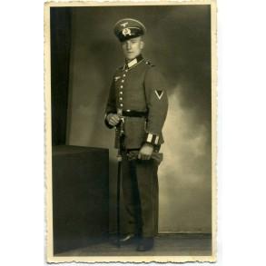 Portrait photo with NCO sabre