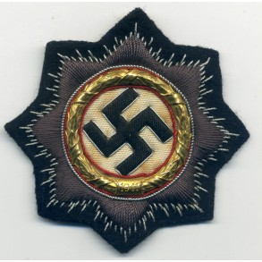 German Cross in Gold for panzer troops
