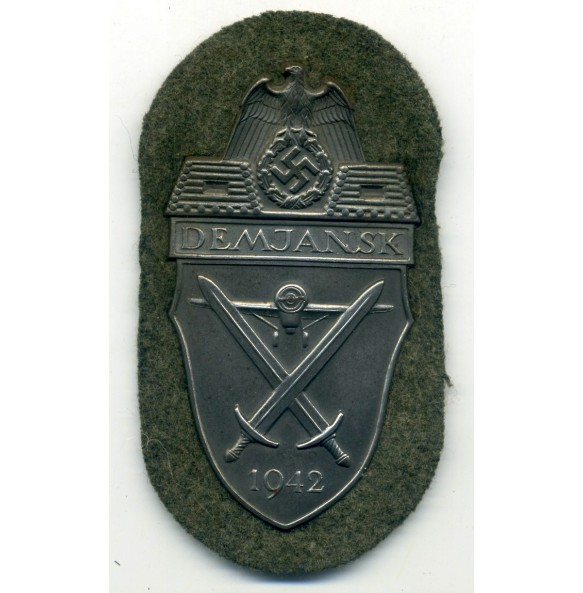 Demjansk shield for army troops