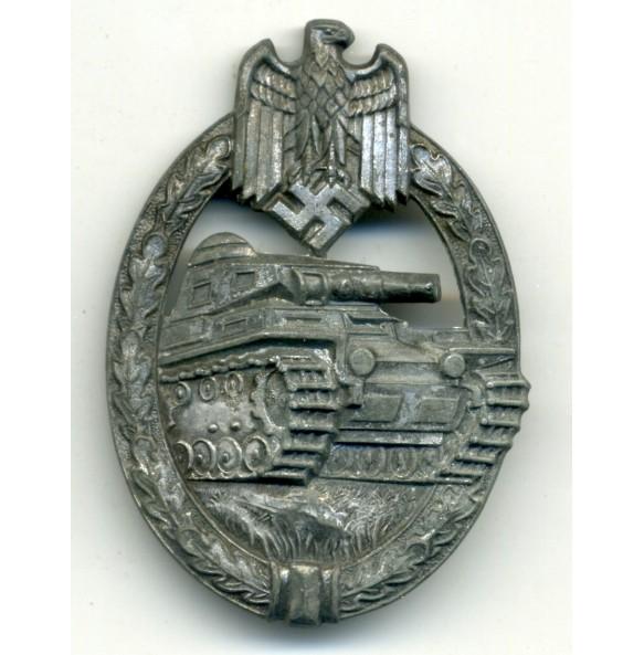 Panzer Assault Badge in bronze by H. Aurich