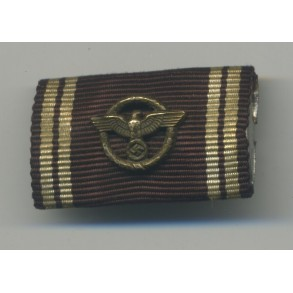 NSDAP 10 year service medal single ribbon bar