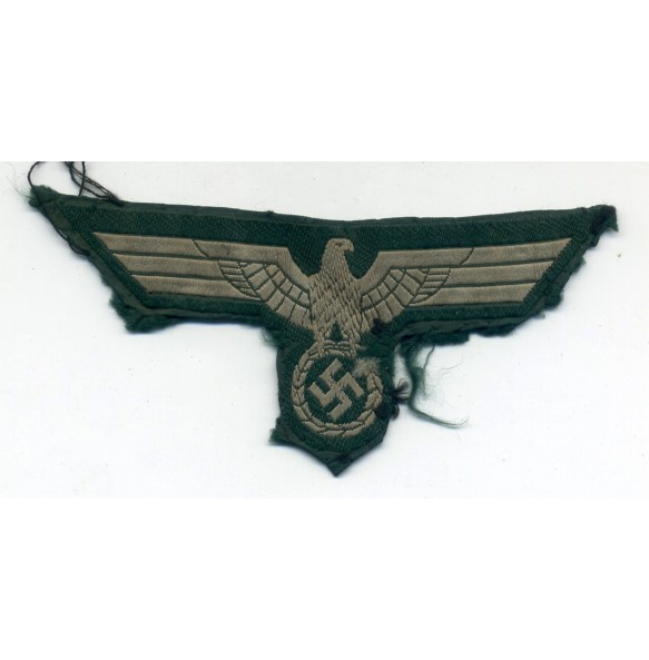 Army beast eagle, uniform ripped off