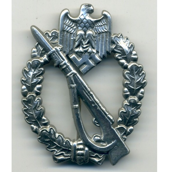 Infantry Assault Badge in silver by J. Feix