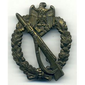 Infantry Assault Badge in Bronze by J. Feix & Söhne