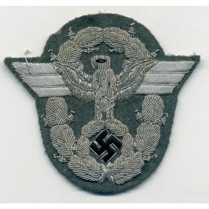Police officer bullion arm eagle