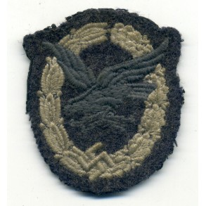 Radio Operator / Airgunner badge, cloth variant
