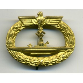 Kriegsmarine U-Boat badge by Schwerin