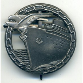 Kriegsmarine Blockade Breaker badge by Schwerin