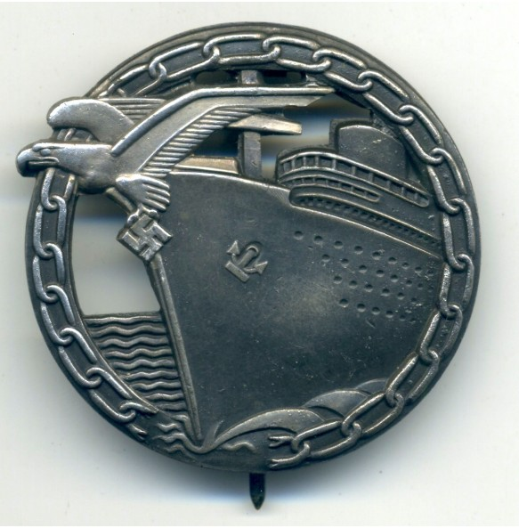 Kriegsmarine Blockade Breaker badge by Schwerin
