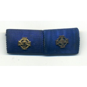 Army 25 + 40 year civil service award ribbon bar