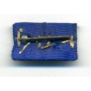 Army 4 + 8 year service award ribbon bar