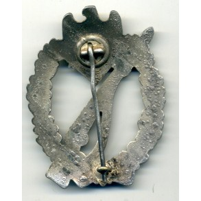 Infantry Assault Badge in silver by H. Aurich