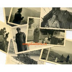 "Private photo lot SS-Brigadeführer ""LSSAH"" Walter Staudinger"