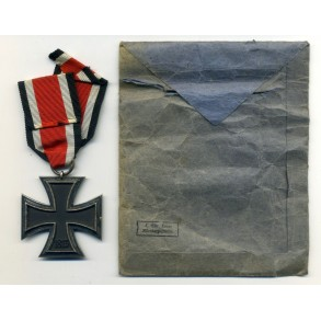 Iron Cross 2nd class by L. Christian Lauer + package