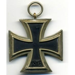 Iron Cross 2nd class by C.E. Juncker, zink core!