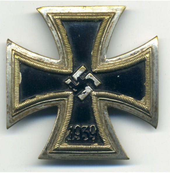 Iron Cross 1st class by AWS/C.E. Juncker, one piece tombac construction!