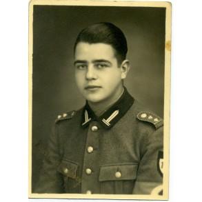Portrait RAD-Hauptvormann 1943