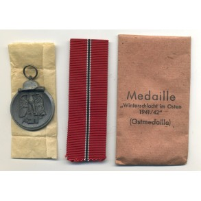 East front medal by J. Maurer + package MINT