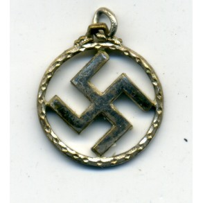 Female necklace hanger