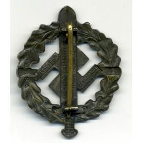 SA sport badge in bronze by Fechler #928684