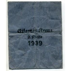 Iron Cross 2nd class award package by Klein & Quenzer